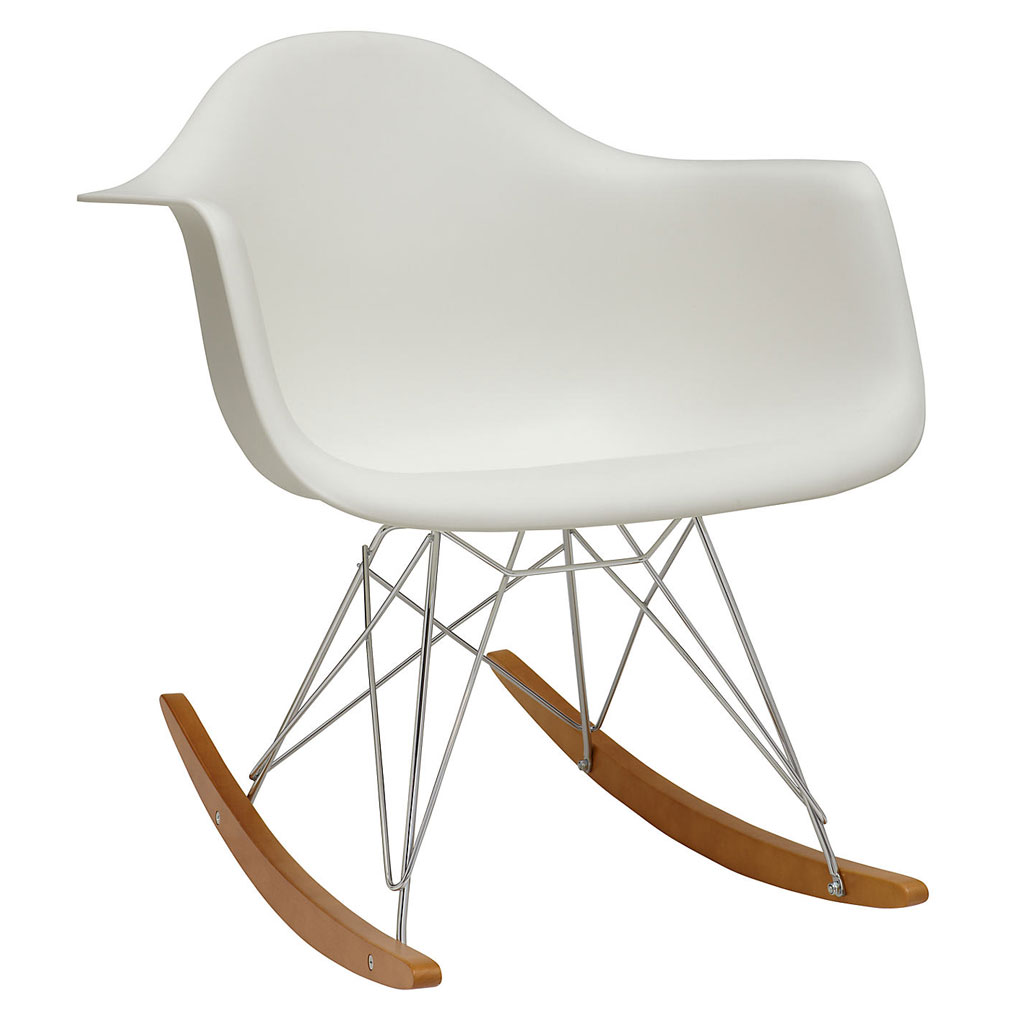Chaise à bascule RAR blanc - Vitra - The Conran Shop 54309a840d0b